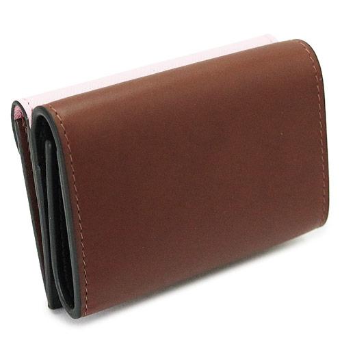 マルニ折財布レディースPFMO0001Q2LV589Z2G08財布三つ折り財布ミニ財布コンパクト財布サフィアーノレザーMARNIWALLET