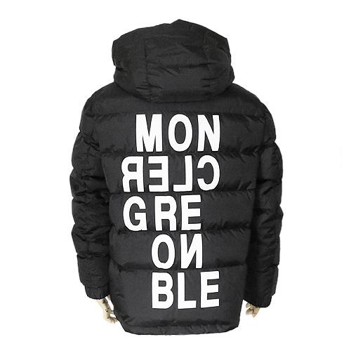 モンクレール ダウンジャケット メンズ アウター ブルゾン ISORNO イゾルノ ブラック 黒 MONCLER 41884 05 5399E 999