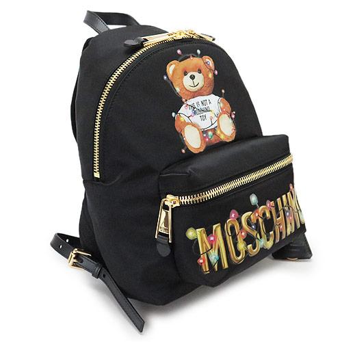モスキーノ リュックサック MOSCHINO バックパック Teddy Bear Holiday テディベア 3XA7699 8260 1555【2019年春夏新作】