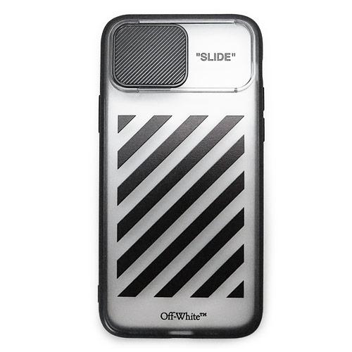 オフホワイト OFF WHITE iPhoneケース 新品 正規品 スマホケース OMPA018R21PLA007 1010 店 スマホカバー SLIDE OFF-WHITE iPhone 定番の人気シリーズPOINT ポイント 入荷 ブラック 11Pro DIAG 2021年春夏新作