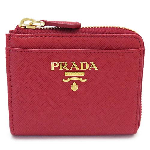 da6d144d443b プラダ 小銭入れ PRADA レディース 新品 プラダ 小銭入れ PRADA コインケース レディース レザー フォーコ レッド