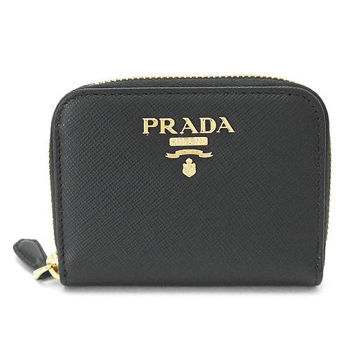 プラダ 小銭入れ PRADA 1MM268 QWA F0002/SAFFIANO METAL NERO 財布 コインケース ブラック 黒