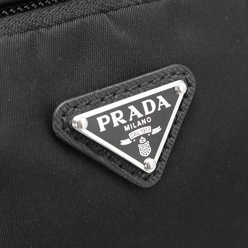 02c38e9ef242 ポーチ PRADA メンズ セカンドバッグ クラッチバッグ ナイロン ブラック ...