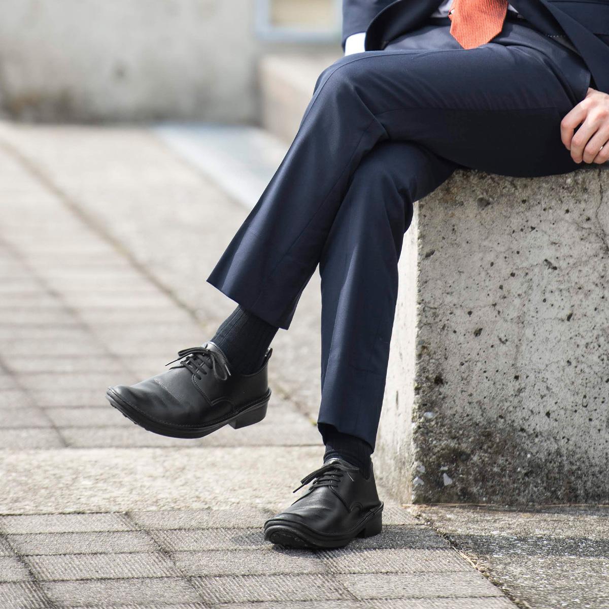 Men's comfort lace-up shoes long nose ★ HAWK1 * we publish race PON unavailable