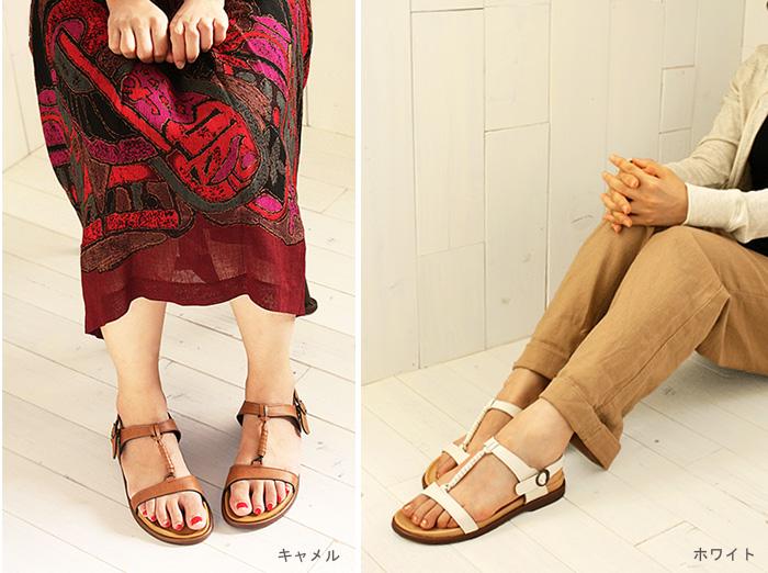 像中線平地涼鞋/SS~LL族群一樣的天然的設計超柔軟,并且把假名用于的★S0007適合的製鞋工人構架Belle and Sofa原始物