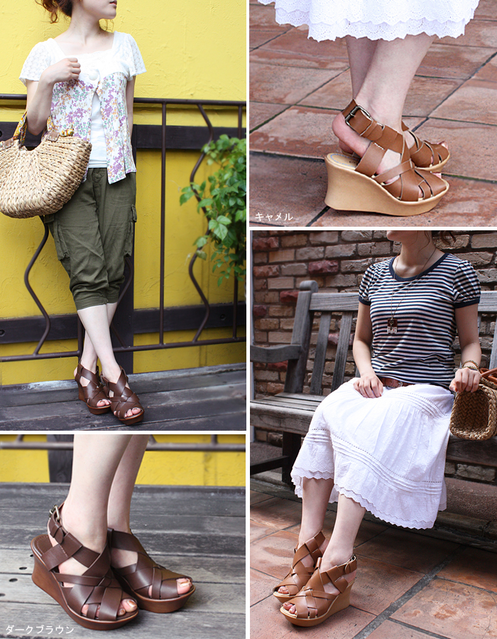 メッシュウ edge Sandals ★ 1287-friendly Shoe Studio Belle and Sofa original fs3gm