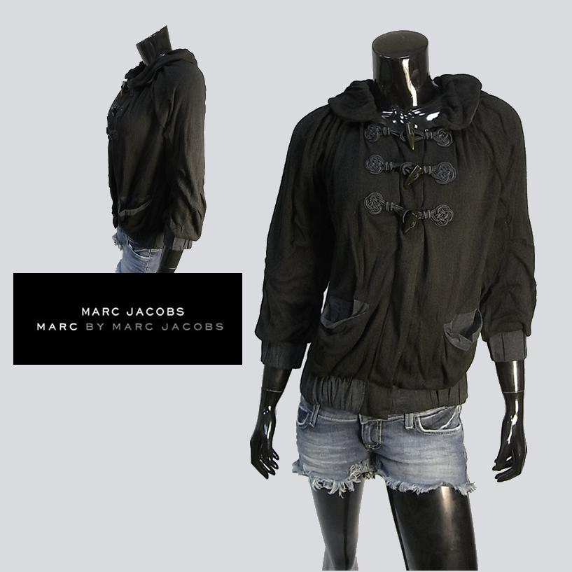 MARC BY MARCJACOBS マークバイマークジェイコブス duffle jacket ダッフル ジャケット コート ブラック セール