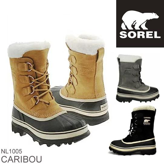 SOREL ソレル CARIBOU カリブー NL1005 レディース 防寒ブーツ 雪靴 スノーブーツ ウィンターブーツ アウトドアブーツ  正規品取扱店舗  so1