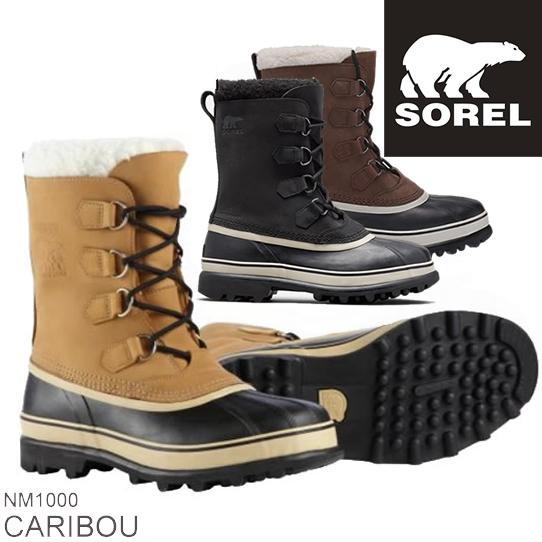 SOREL ソレル CARIBOU カリブー NM1000 メンズ 防寒ブーツ 雪靴 スノーブーツ ウィンターブーツ アウトドアブーツ  正規品取扱店舗 コンビニ受取対応商品 so1