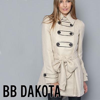 OUTLETビービーダコタ BB Dakota The Alex Coat ダブルボタンコート  正規品取扱店舗