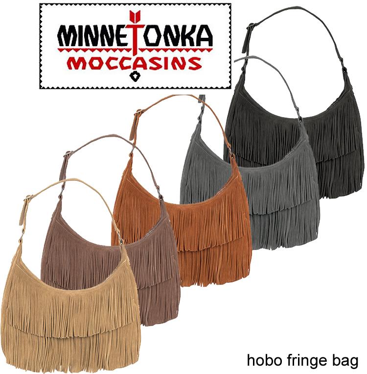 即日发送MINNETONKA minetonka hobo fringe bag Hobo边缘包·挎包