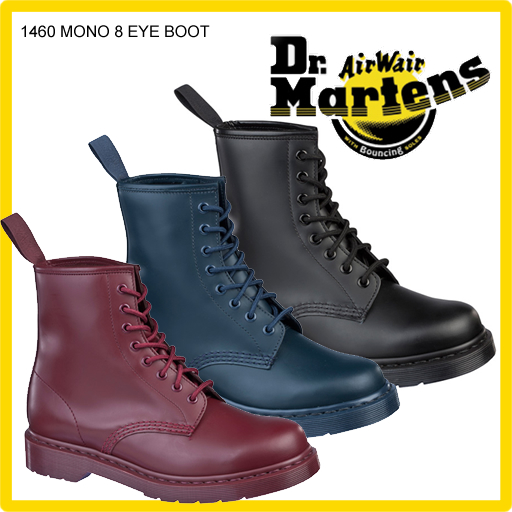 最安値で  ▼即日発送▼ ブーツ Dr.Martens ドクターマーチン CORE Boot 1460 MONO 8-Tie Boot R14353001 R14353001 8ホール ブーツ 正規品取扱店舗 so1, グリーバー:7bcff3e6 --- portalitab2.dominiotemporario.com