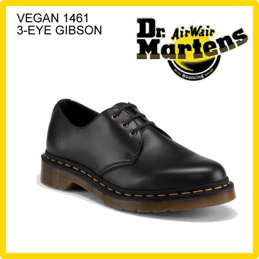 Dr.Martens ドクターマーチン VEGAN 1461 3 EYE GIBSON ベガン 3ホール ギブソン ローカットシューズ R14046001  正規品取扱店舗  so1