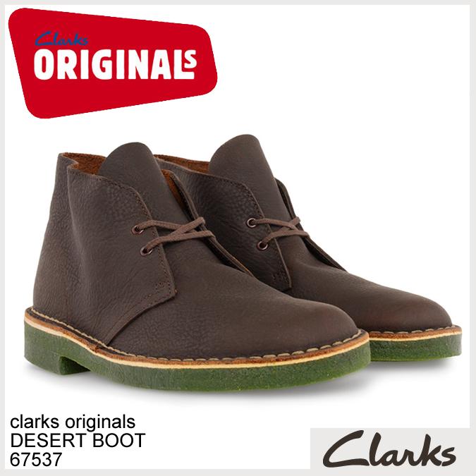 Clarks ORIGINALS クラークス オリジナルズ デザートブーツ 67537 BROWN OILY, GREEN CREPE  正規品取扱店舗  so1