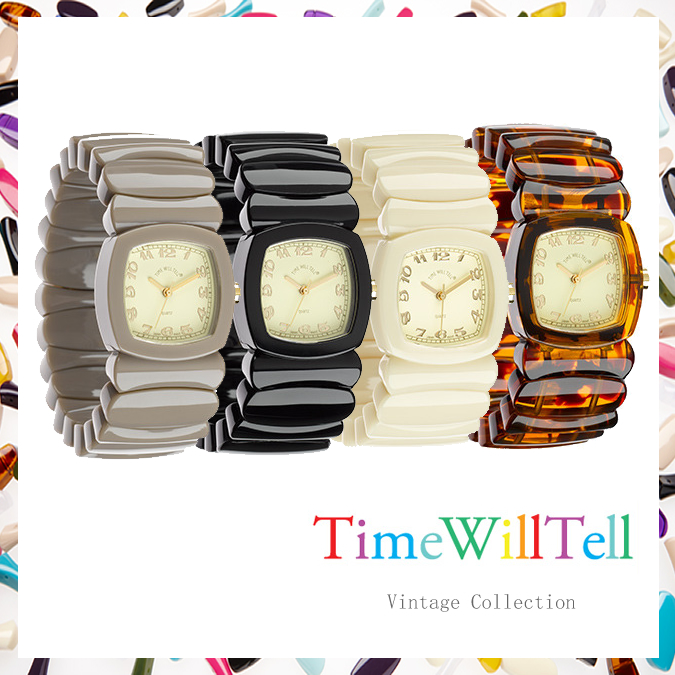 TIME WILL TELL タイムウイルテル VINTAGE COLLECTION SサイズMサイズTIMEWILLTELL 腕時計  正規品取扱店舗