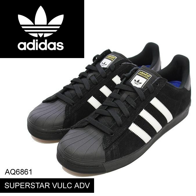 adidas アディダス オリジナルス スケートボーディング スーパースター SB SUPERSTAR ADV Black White Black スケートボード スケボー シューズ スニーカー スケシュー 【正規品取扱店舗】  s