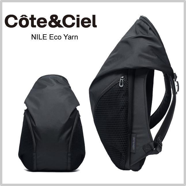 コートエシエル Cote&Ciel ナイルリュック Nile Eco Yarn Backpack エコヤーン 15インチPCバッグパック ブラック 28471 正規品取扱店舗  so1