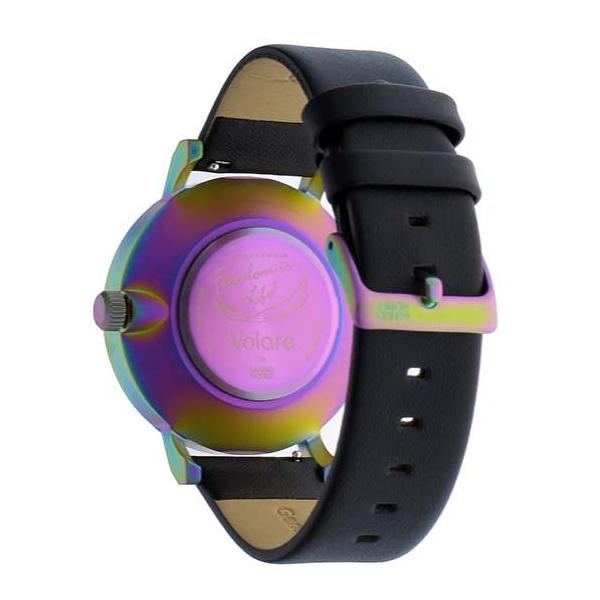 KLASSE14 保証あり 腕時計 36mm 42mm MARIO NOBILE VOLARE 時計 クラスフォーティーン  レディース メンズ ユニセックス ブラック 黒 レインボー  レザー 革ベルト VO15TI001M VO15TI001Wペア購入割引クーポン発行中  正規品取扱店舗