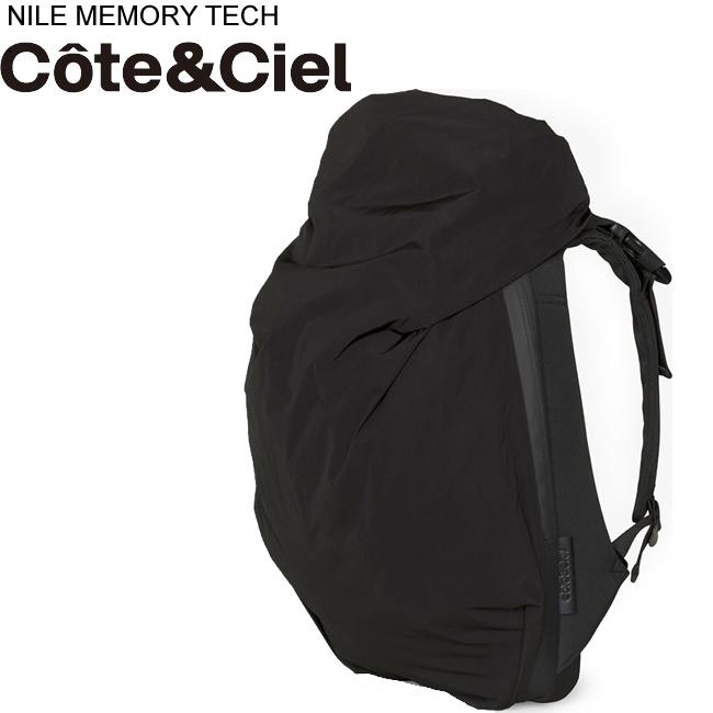 コートエシエル Cote&Ciel ナイル リュック Nile Backpack 15インチPCバッグパック ブラック 28640 正規品取扱店舗  so1