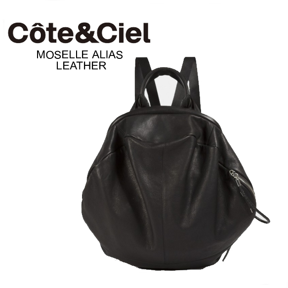 Cote&Ciel 最新入荷 コートエシエル Moselle Backpack LEATHER レディース バックパック 本革 レザー リュックサック バッグ 28372  正規品取扱店舗