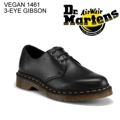 807a29b0fb Dr.Martens doctor Martin VEGAN 1461 3 EYE GIBSON ベガン 3 hall Gibson low- ...