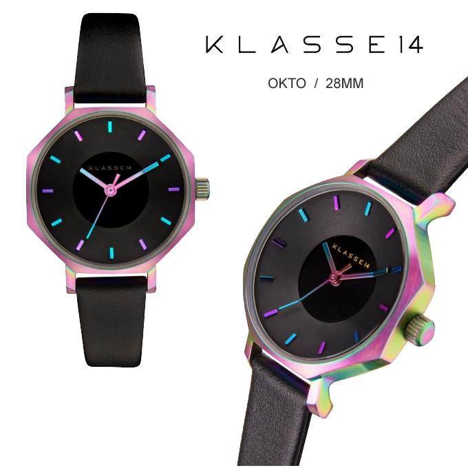 KLASSE14 クラスフォーティーン 保証あり 腕時計 36mm レインボー OKTO オクト 時計 クラッセ レディース メンズ ユニセックス OK17TI001S  正規品取扱店舗