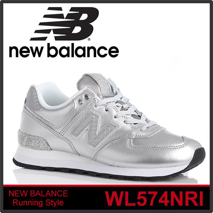 NEW BALANCE WL574NRI ニューバランス 574 MADE IN U.S.A シルバー Metallic Silver/Grey メタリックシルバー/グレー スニーカー 正規品取扱店舗 so1