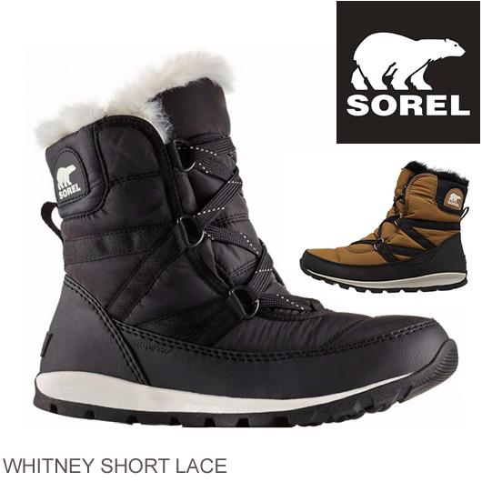 冬のオシャレなスノーブーツの定番SOREL ソレル SOREL スノーブーツ 海外限定 ウィットニー ショート レース WHITNEY SHORT 激安格安割引情報満載 ブーツ 靴 正規品取扱店舗 レディース NL2776 LACE
