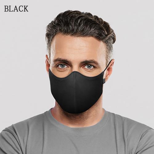 ブロックBLOCH抗菌防臭マスクソフトストレッチマスクホワイトA001メンズレディース男女兼用オシャレかっこいいカワイイ