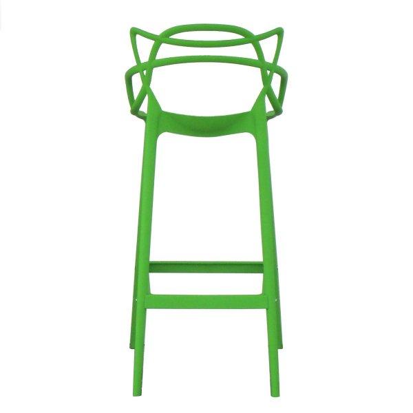 2脚セット  マスターズスツールハイ カルテル フィリップ・スタルク カウンター用 チェアー カフェ 椅子 イス グリーン ジェネリックチェア
