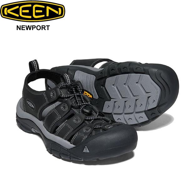 スーパーセール特別価格 キーン ニューポート ブラック サンダル 靴 KEEN Newport 1022247 メンズ 男性 シューズ アウトドア キャンプ フェス スポーツ 自転車 素足 軽量 正規品取扱店舗