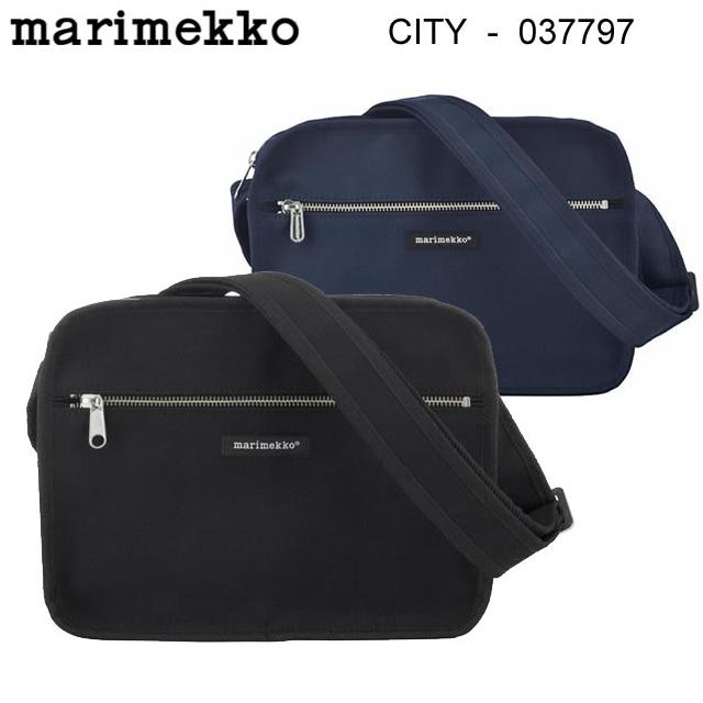 スーパーセール特別価格 マリメッコ marimekko ショルダーバッグ CITY BAG 全2色 北欧 ウニッコ 鞄 バッグ 無地 肩掛け カジュアル デイリー  正規品取扱店舗 あす楽