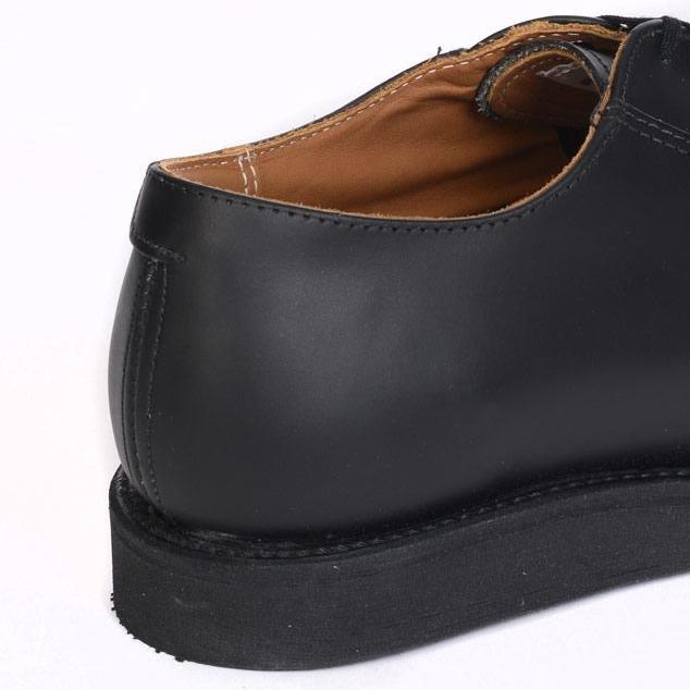レッドウィングポストマンオックスフォードREDWING101PostmanOxfordブラックオリジナルレザーワークブーツアメリカ製正規品取扱店舗