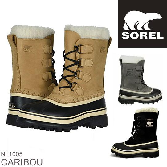 スーパーセール特別価格 SOREL ソレル CARIBOU カリブー NL1005 レディース 防寒ブーツ 雪靴 スノーブーツ ウィンターブーツ アウトドアブーツ  正規品取扱店舗