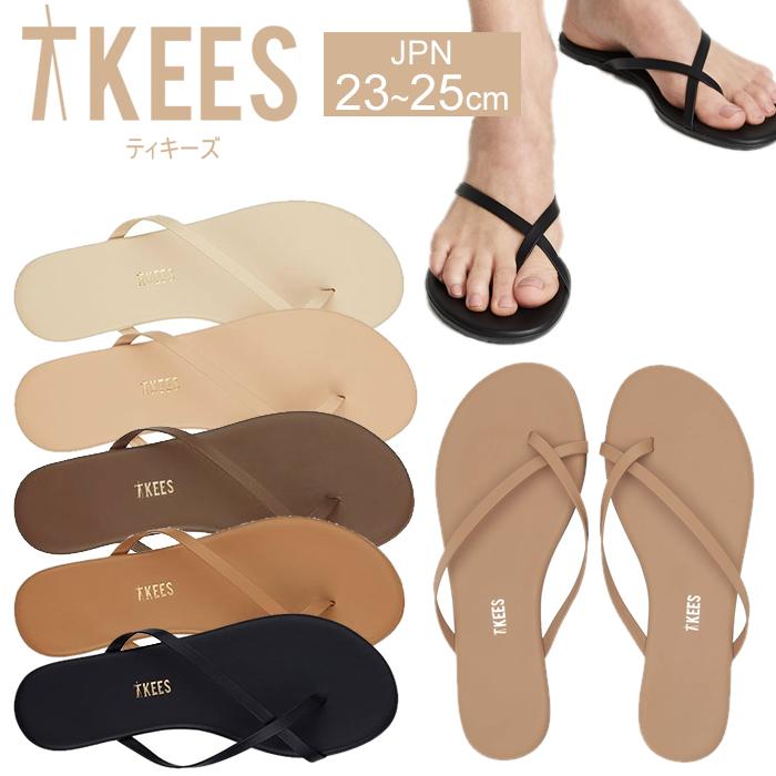 TKEES ティキーズ ビーサン  TKEES ティキーズ クロスオーバー サンダル レディース 女性用 シューズ 靴 フラットサンダル RILEY ティーキーズ 正規品取扱店舗