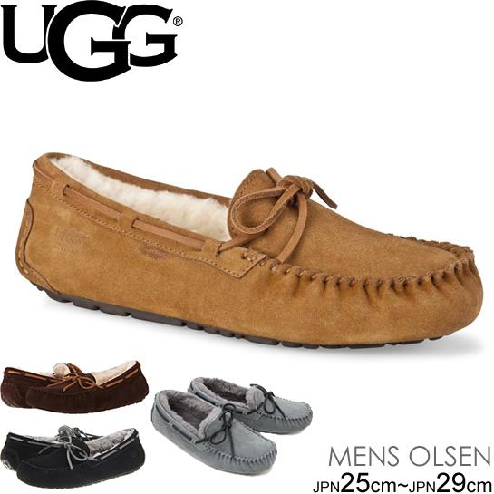 スーパーセール特別価格 UGG MENS OLSEN アグ メンズ オルセン ムートン カジュアルシューズ モカシン 1003390  正規品取扱店舗