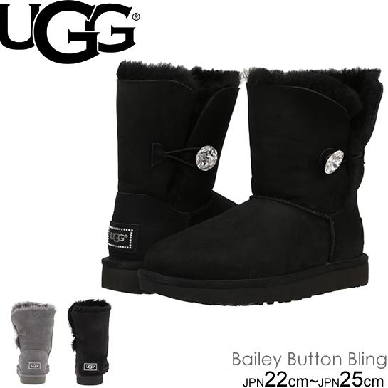 UGG Bailey Button Bling アグ ベイリーボタン ブリング ショートブーツ 3349 1016553 ムートン so1