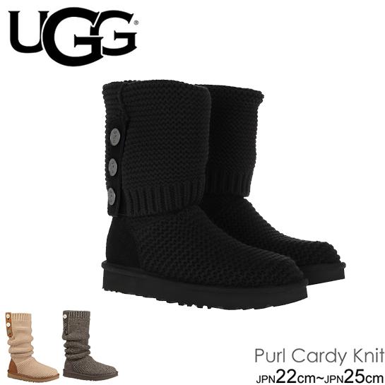 アグ UGG パール カーディ ニットブーツ シープスキンインソール Purl Cardy Knit Boot 正規品取扱店舗  so1