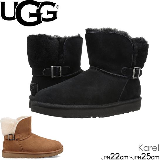 UGG アグ カレル クラシック ノベルティー Women's Karel 1019639 CLASSIC NOVELTY 2カラー ムートンブーツ シープスキン 正規品取扱店舗  so1