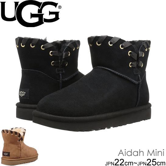 UGG アグ クラシック ノベルティー ミニ Women's AIDAH MINI 1019644 CLASSIC NOVELTY 2カラー ムートンブーツ シープスキン 正規品取扱店舗  so1