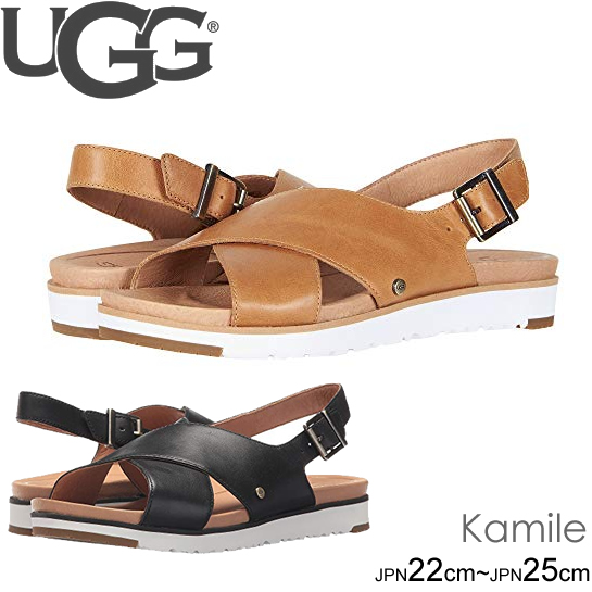 アグ UGG ストラップサンダル KAMILE レディース シューズ 靴 サンダル フラット レザー ミュール 正規品取扱店舗
