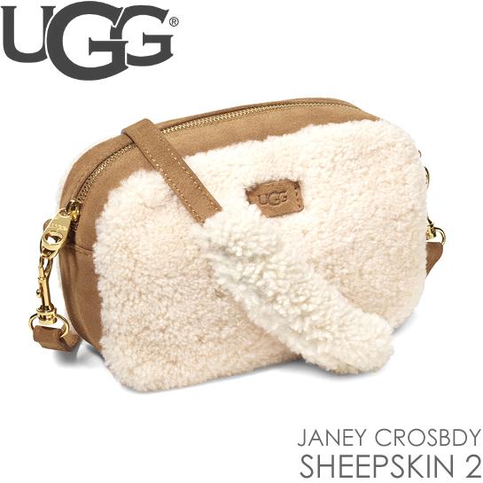 アグ UGG ショルダーバッグ ジェニ- クロスボディ シープスキン  JANEY CROSBDY SHEEPSKIN 2 正規品取扱店舗
