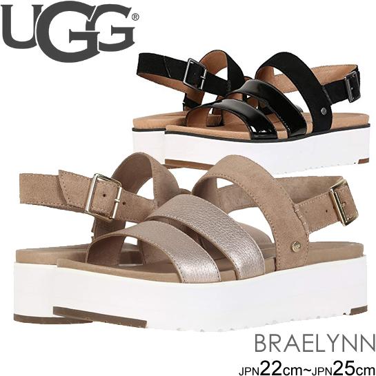 アグ UGG ストラップサンダル BRAELYNN レディース シューズ 靴 プラットフォーム サンダル 正規品取扱店舗 so1
