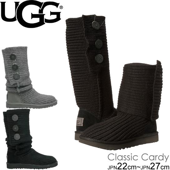 UGG アグ ブーツ Classic Cardy 5819 1016555 クラシック カーディ ニットブーツ ムートンブーツ 正規品取扱店舗 so1