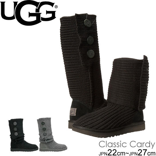 UGG アグ ブーツ Classic Cardy 5819 1016555 クラシック カーディ ニットブーツ ムートンブーツ 正規品  正規品取扱店舗  so1