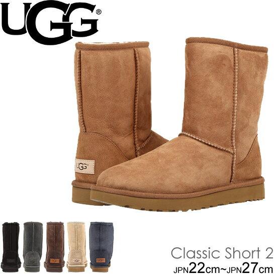 UGG アグ ムートンブーツ 1016223 クラシックショートII クラシック ショート2 レディース Women's CLASSIC SHORT II ショート ブーツ シープスキン 正規品取扱店舗  so1
