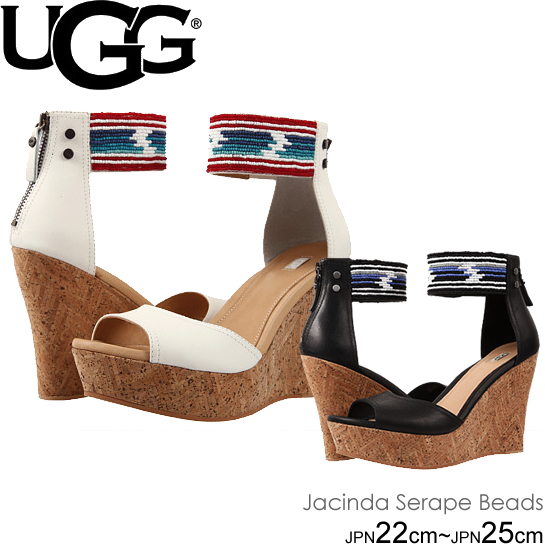 UGG アグ W Jacinda Serape Beads ウェッジソールサンダル  正規品取扱店舗