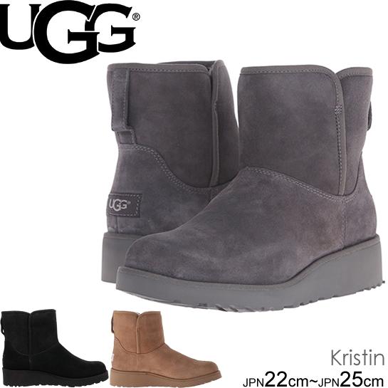 UGG kristin アグ クリスティン ウェッジ ミニ ショートブーツ ムートンブーツ 1012497 正規品取扱店舗  クラシックブーツ