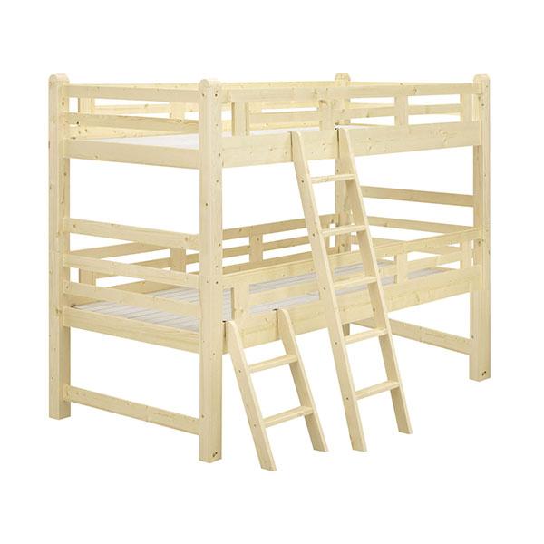 ベッドフレーム 【ファミリア 2段ベッド】 幅105 寝室 【送料無料】
