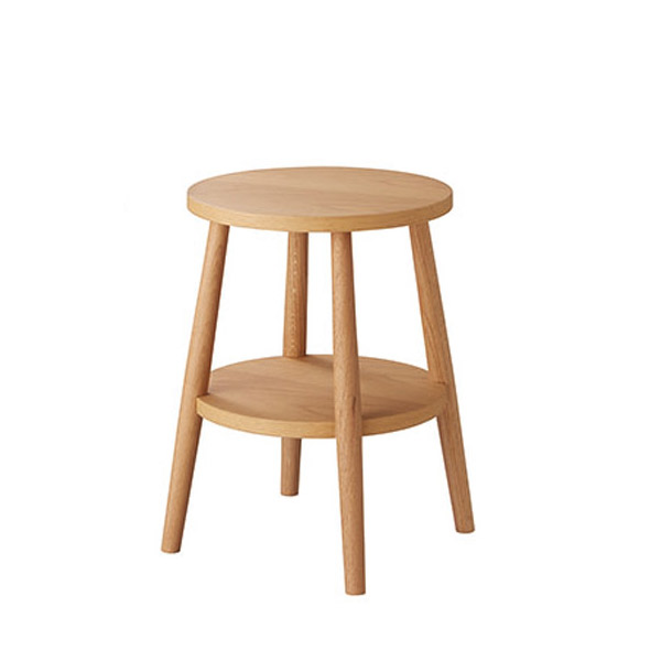 日本ベッド ナイトテーブル【well(ウェル)】ナイトテーブル/61334(ナチュラル)サイドテーブル